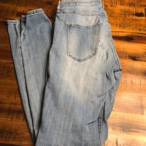 H&M dress and jeans